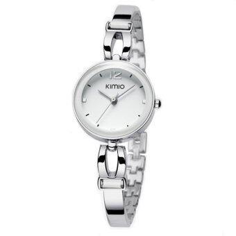 Kimio นาฬิกาข้อมือผู้หญิง สายสแตนเลส รุ่น K466 - สีเงิน