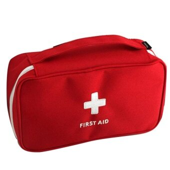 Harga Portable bag First Responder Storage Bag First Aid Empty Kit Bag Travel Sport - intl