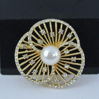 Pearl Jewelry เข็มกลัดติดชุดดำ Pearl Opera
