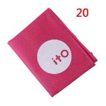 DC275 ผ้าคลุมกระเป๋าเดินทาง ITO สีชมพู 20''