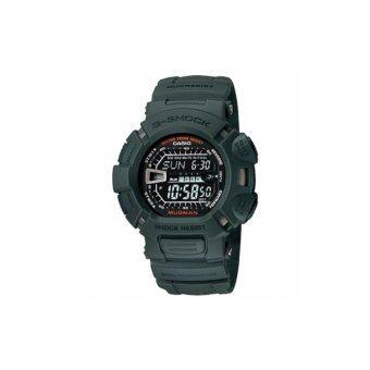 Casio G-Shockนาฬิกาข้อมือผู้ชาย สีเขียว สายเรซิ่น รุ่นG-9000-3รับประกันcmg
