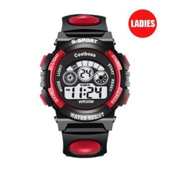 S SPORT นาฬิกาข้อมือ หญิง-เด็ก กันน้ำได้ดี CX0119 (Red)