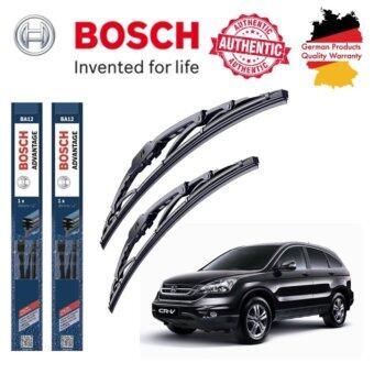 ใบปัดน้ำฝน Bosch Advantage ขนาด 26 นิ้ว และ 16 นิ้ว สำหรับ Honda CRV (4th-GEN) Year '13 -