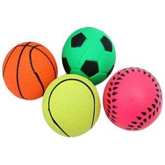 บาสเกตบอล/ฟุตบอลลูกบอลยางกลมรูปทรง ฯลฯ ฯการฝึกสุนัขเคี้ยวเด้ง