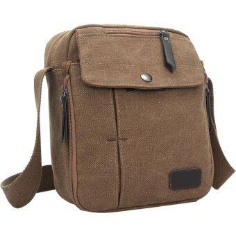 เพศผ้าใบอเนกประสงค์กลางแจ้งเดินป่าตั้งแคมป์ท่องเที่ยวกีฬากระเป๋าเล็กกระเป๋าสะพายไหล่กระเป๋ากาแฟบอก