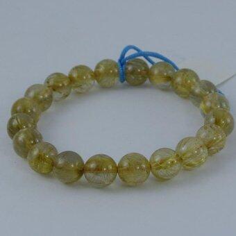 Pearl Jewelry กำไลหินไหมทอง X6