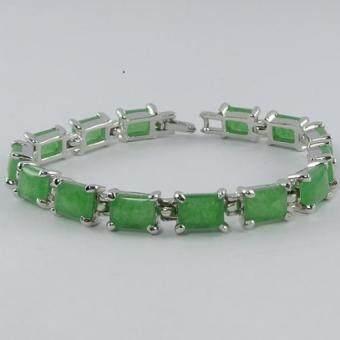 Pearl Jewelry สร้อยข้อมือหินหยก11