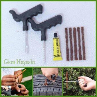 Hayashi-ชุดปะยางฉุกเฉิน สำหรับรถยนต์และ มอเตอร์ไซค์ แบบพกพา รุ่นด้ามจับใหญ่พิเศษ