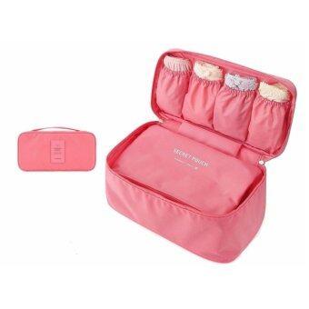 TravelGear24 กระเป๋าเก็บของใช้ส่วนตัวและชุดชั้นใน (Old Rose/สีโอรส) Underwear Storage Bag
