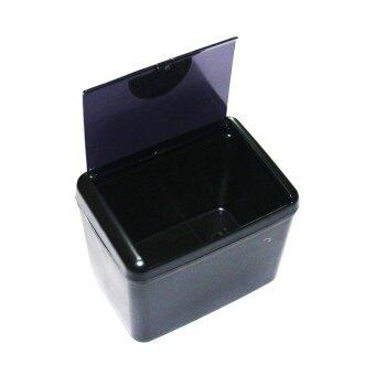 Harga Car Trash Bin Auto Garbage Rubbish Can Holder Box