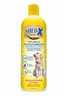 Shed-x Dermaplex อาหารเสริมแก้ปัญหาขนร่วงของสุนัข ขนาด 16 oz