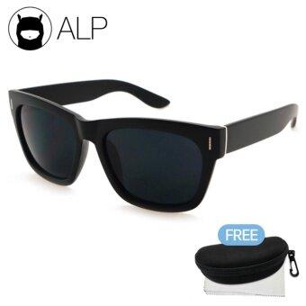 นำเสนอ ALP Sunglasses แว่นกันแดด Wayfarer Style รุ่น ALP-0013-BKT-BK (Black/Black) รีวิว