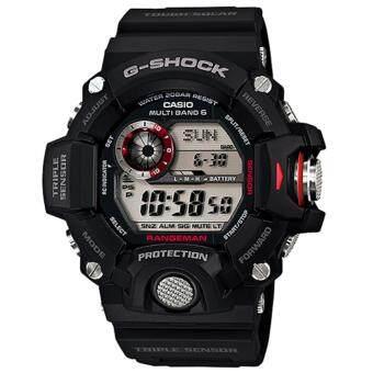 Casio G-Shock นาฬิกาข้อมือผู้ชาย สายเรซิ่น รุ่น GW-9400-1 - สีดำ