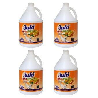 ปินโต้ น้ำยาล้างจาน 3800มล - ส้ม แพ็ค 4