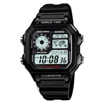 Casio Standard นาฬิกาข้อมือ รุ่น AE-1200WH-1A (Black)