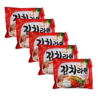 Kimchi ramen ราเม็งสำเร็จรูปรสกิมจิ ตราซัมยัง 120g แพค 5