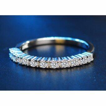 TANITTgemsแหวนเงินประดับเพชรแถวน้ำงาม