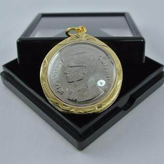 Pearl Jewelry จี้ เหรียญ 5 บาท ครุฑเฉียง พศ.2522 เหรียญหายาก งานแอนทีค