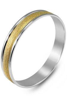 555jewelry กำไลสำหรับสุภาพบุรุษและสุภาพสตรี รุ่น FSBG110-B (สี Yellow Gold)