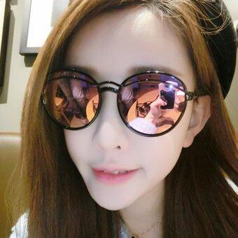 KPshop แว่นกันแดดผู้หญิง แว่นตาแฟชั่น แว่นตาเกาหลี รุ่น LG-048