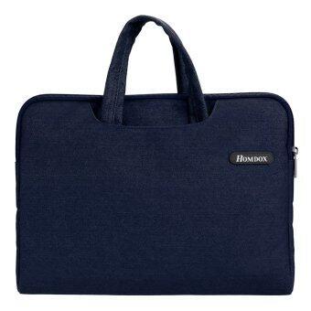 ไซเบอร์ซอฟท์ Netbook กระเป๋าโน้ตบุ๊คกระเป๋าแขนเสื้อเคส+อำจัดการสำหรับ 39.62ซม 35.81ซม 36.83ซมโน้ตบุ๊ค (สีน้ำเงิน)