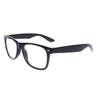 ไอ้โคร่งเพศวินเทจแรงบันดาลใจสีเพี้ยนล้างเลนส์แว่นตาแว่นตาสีดำ