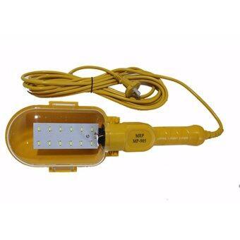 iBettalet MRP โคมไฟแขวน 220V ขั้ว E-27 โคมไฟซ่อมรถ รุ่น MP-905 (สีเหลือง)