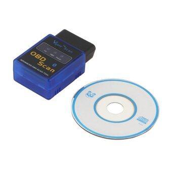โอ้ ELM327 OBD OBDI ฉัน-ทู OBD2 บลูทูธอัตโนมัติสแกนเนอร์เครื่องมือวินิจฉัยมินิ (สีน้ำเงิน)