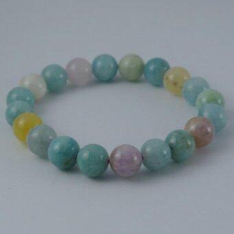 Pearl Jewelry กำไลหินเบริล A36