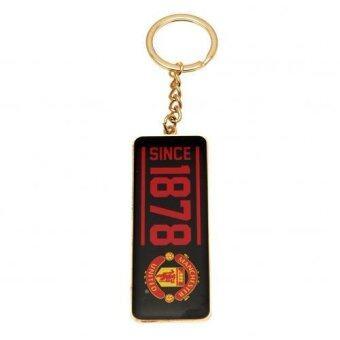 Manchester United FC พวงกุญแจ แมนยู EST 1878 (โลหะ)