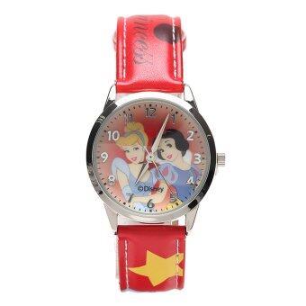 Disney นาฬิกา PRINCESS รุ่น PSFR233-02B สีแดง