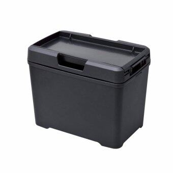 ถังขยะพร้อมฝาปิด และ ที่วางกล่องทิชชู่ Seiwa W733