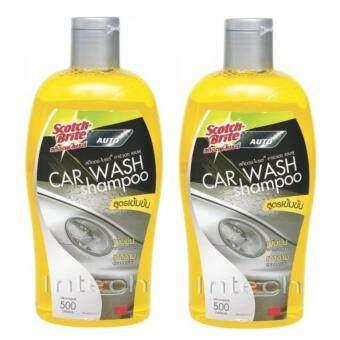 แชมพูล้างรถยนต์ สูตรเข้มข้น ขนาด 500 มิลลิลิตร (x2ขวด) 3M Car Wash Shampoo