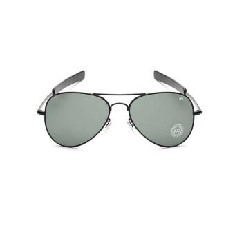 แว่นตากันแดดแว่นตานักบินผู้ออกแบบแสงสียี่ห้อ GreyBlack