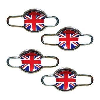 FITT เบ้าเปิดประตู SUZUKI SWIFT 2012 นอก-ลายธงชาติอังกฤษ (4ชิ้น/ชุด)