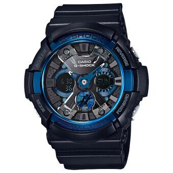 Casio นาฬิกาข้อมือ G-Shock สายเรซิ่น - รุ่น GA-200CB-1A