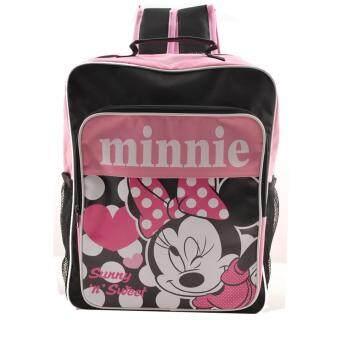 Disney Minnie Mouse กระเป๋าเป้ กระเป๋านักเรียน สะพายหลัง