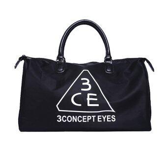 Stylenanda กระเป๋าเดินทางสะพายไหล่ขนาดใหญ่ 3CE - Black