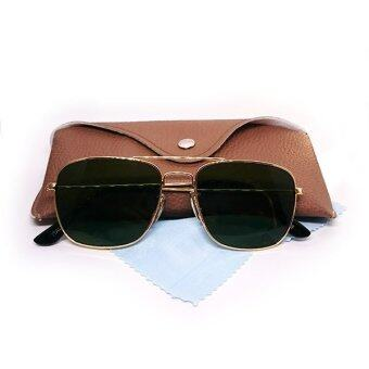 แว่นกันแดด Oculos De Sol-3136-GOLD
