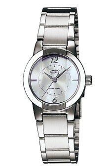 Casio Standard นาฬิกาข้อมือผู้หญิง สายสแตนเลส รุ่น LTP-1230D-7CDF - เรือนเหล็ก/หน้าเงิน