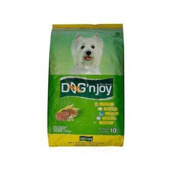 Dog 'n Joyอาหารสำหรับสุนัขพันธุ์เล็ก รสเนื้อตับ10กก.