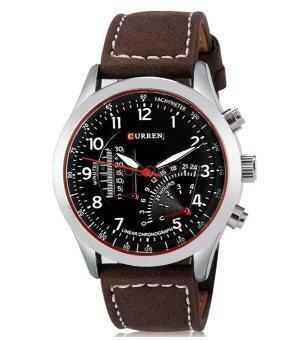 Sevenlight นาฬิกาข้อมือ - Curren 1047 (Dark Brown) (image 0)