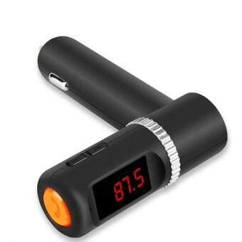 chaiyoBC08บลูทูธชาร์จไฟในรถแฮนด์ฟรีแบบไร้สายรถยนต์เครื่องเล่นMP3 FM T RansmitterแบบDual USB Car Chargerบลูทูธชุดอุปกรณ์ติดรถยนต์สำหรับโทรศัพท์