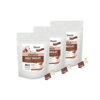 iHealth Granola กราโนล่า รสDouble Chocolate ตราไอเฮล์ 300g (3ซอง)