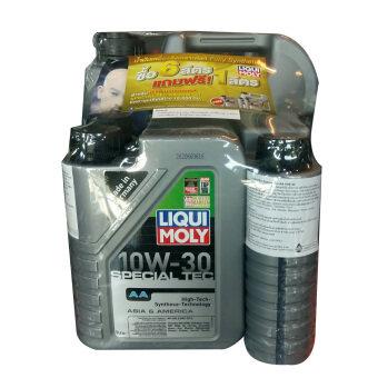 Liqui Moly น้ำมันเครื่อง special tec aa10w30 ขนาด 6L. (แถมฟรี ขนาด 1 ลิตร มูลค่า 400 บาท)