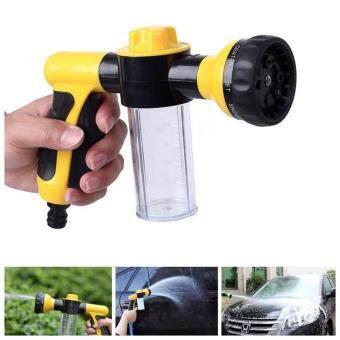 Hayashi- หัวฉีดโฟมล้างรถ หัวฉีดน้ำล้างรถ อเนกประสงค์ 8in1 Car Foam Water Car Washer Gun