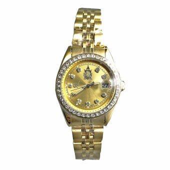 นาฬิกาข้อมือเฉลิมพระเกียรติฯ สำหรับสุภาพสตรี รุ่น EA9464GL_Gold