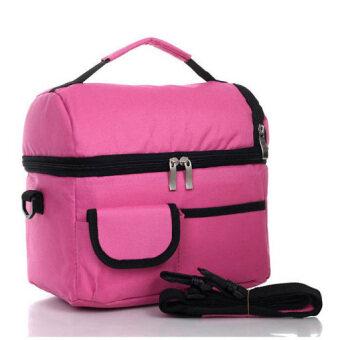 Coolbag กระเป๋าเก็บความเย็นปิคนิก ชมพู