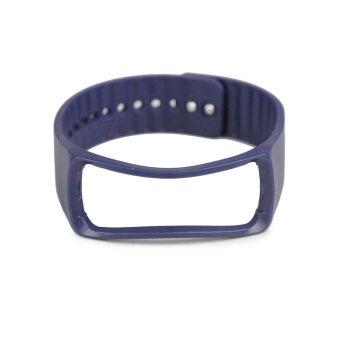 แทนสำหรับ Samsung Galaxy Gear Fit สายรัดข้อมือสายรัดข้อมือสายนาฬิกาอัจฉริยะไพลิน
