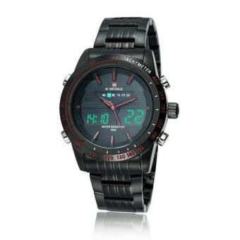 NAVIFORCE WATCH นาฬิกาข้อมือผู้ชาย เครื่องญี่ปุ่น กันน้ำ100% สายแสตนเลสแท้ รุ่น NF9024BR
